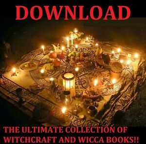 Details about WITCHCRAFT AND WICCA BOOKS LARGE COLLECTION PDF DOWNLOAD
