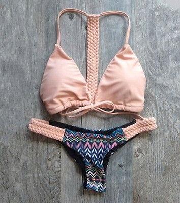 2015 Sexy Bikini Triangle Swimsuit Padded Swimwear Brazilian bathing Suit Bra