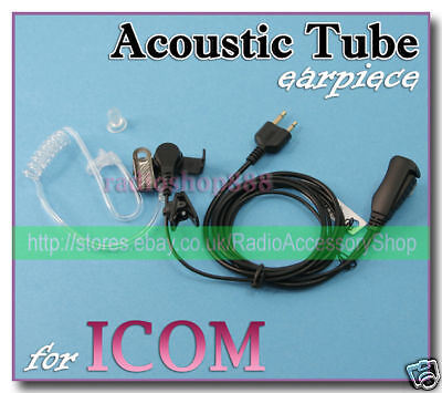 E35S2 2-Wire Earphone w// Acoustic Tube FOR Midland GXT785 GXT760 GXT795