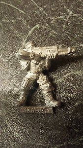 Warhammer 40k Garde Impériale Catachan Flamer-Métal-non peinte