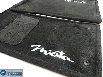 MAZDA MIATA 1990-1997 NEW OEM BLACK FLOOR MATS