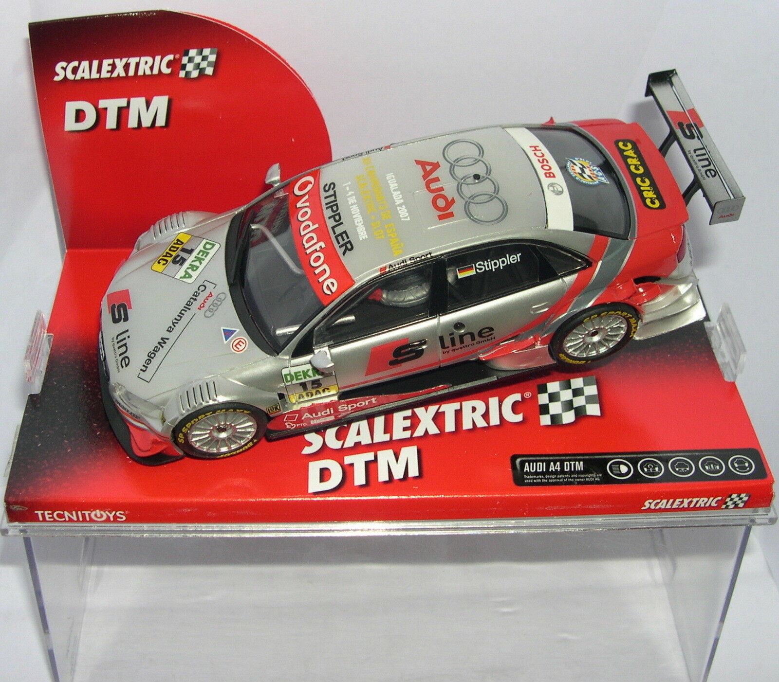 Scalextric 6262 Audi A4 DTM Cto.spanien Igualada 2007 Off.drivers Lted.ed. MB