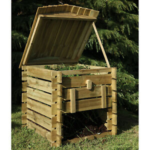 Forest Beehive Composter Garden Recycling Waste Composting ...