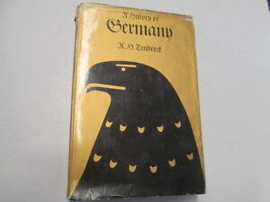 Acceptable-A-History-of-Germany-Robert-Herman-Tenbrock-1969-Longmans