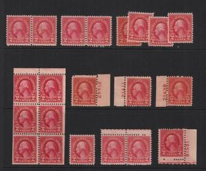1926-Sc-634-MNH-MH-plate-numbers-booklet-pane-singles