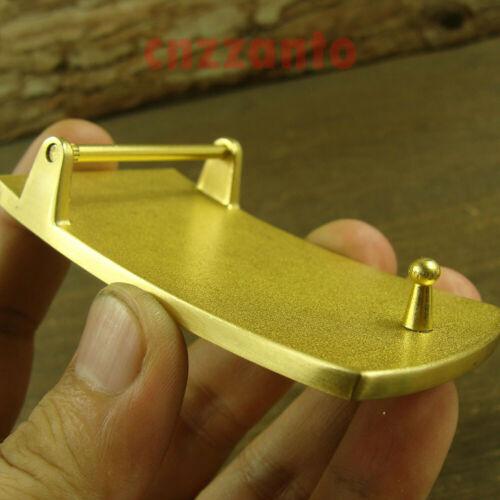 Solid Brass Belt Buckles rectangle plain Plate Classical for 38mm belt Z378