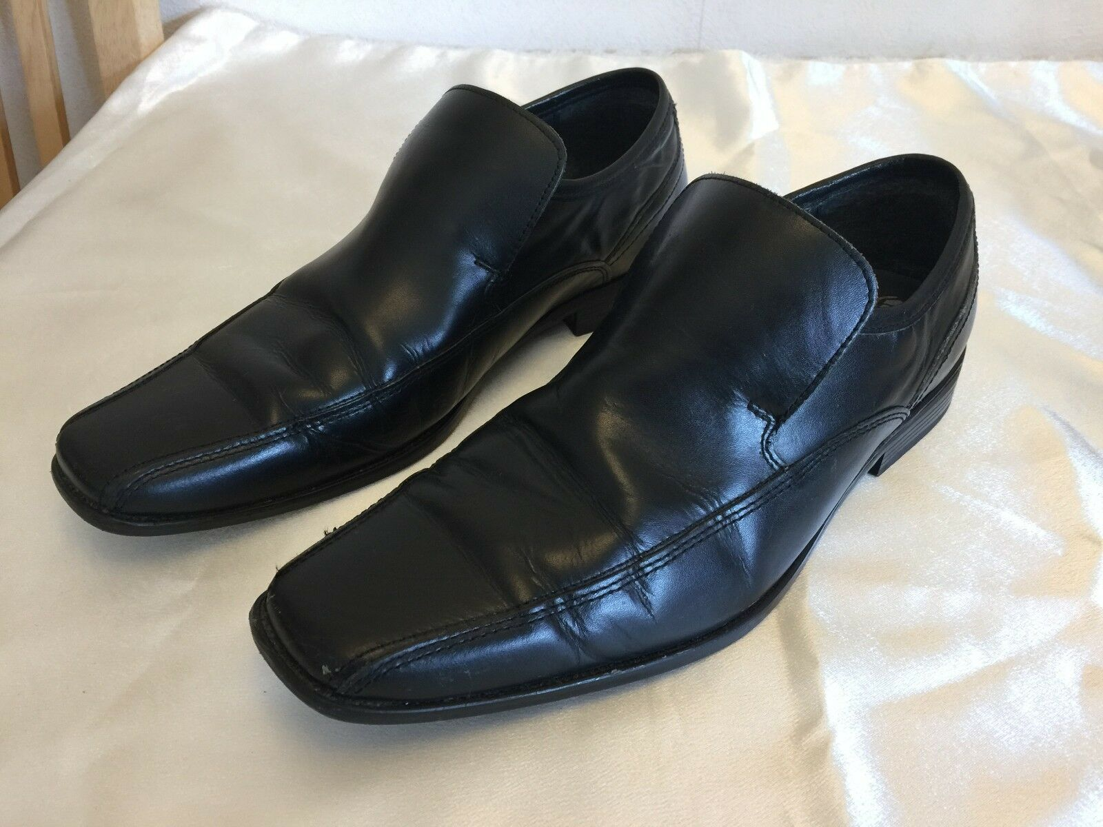 Gentlemen/Ladies NEXT MEN'S BLACK SHOES SIZE * Big clearance sale function Orders are welcome Outstanding function sale 27a01d