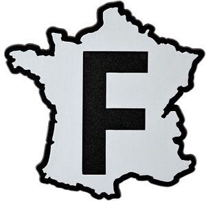 Auto-3D-Relief-Schild-Frankreich-Aufkleber-France-Landkarte-9-cm-HR-Art-4855