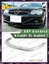03-06 UNPAINTED PRIMED MERCEDES BENZ R230 SL55 AMG MODEL USE C type FRONT LIP