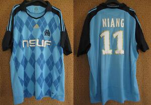 Maillot Olympique Marseille 2008 Adidas shirt Niang #11 OM Neuf Telecom - XL
