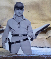 The Rebel, Nick Adams Civil War Western Tabletop Display Standee 9 3/4 Tall