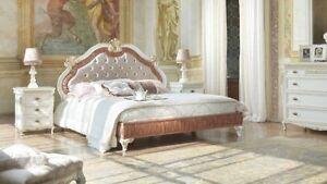 Letti Moderni Di Lusso.Letto Matrimoniale Stile Barocco Moderno Di Lusso Ebay