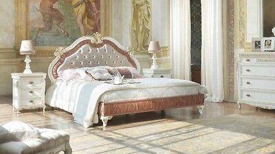 Letti Matrimoniali Moderni Di Lusso.Letto Matrimoniale Stile Barocco Moderno Di Lusso Ebay