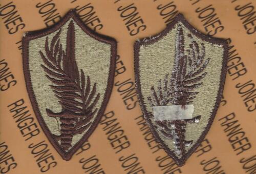 Army Central Command CENTCOM Desert DCU uniform patch m//e Type C U.S