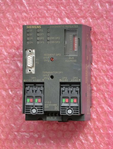 Siemens Simatic s7 diagnostic repetidor tipo 6es7 972-0ab01-0xa0 e 01