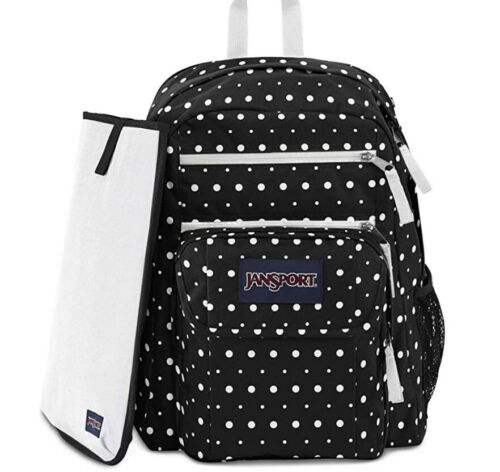 Black Dot Swell NEW w//Tags 100/% Authentic JanSport Digital Student Backpack