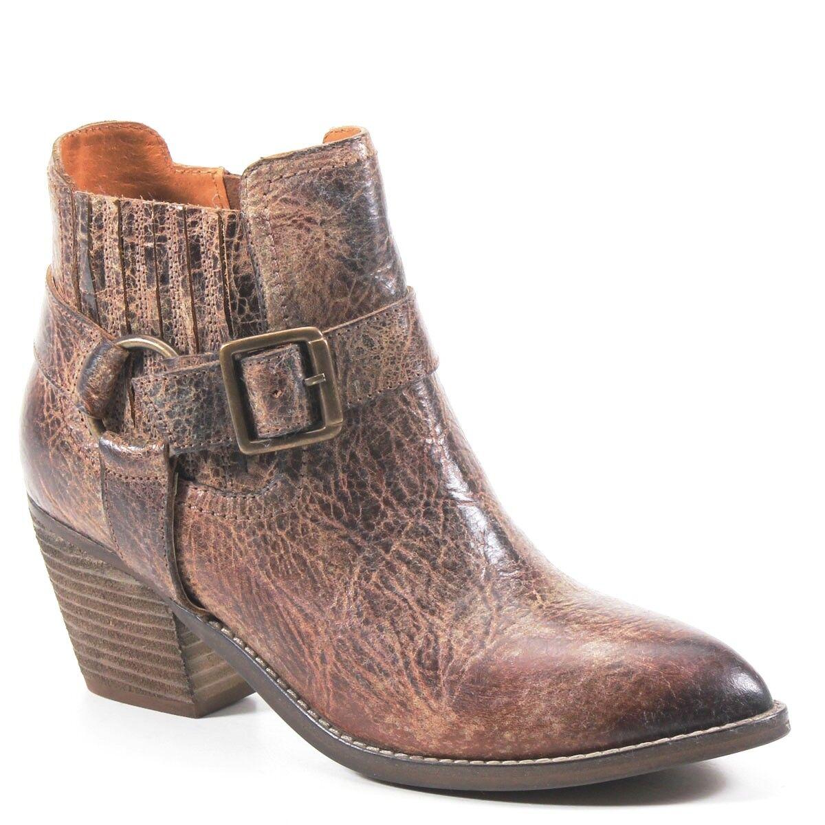 Nuova lista Diba True Ladies Mud Play Vintage Tan Marrone Buckle avvioies avvioies avvioies 33520  risparmia fino al 70% di sconto