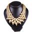 Fashion-Women-Pendant-Crystal-Choker-Chunky-Statement-Chain-Bib-Necklace-Jewelry thumbnail 9