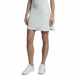 Damen-Nike-Golf-Rock-Skort-X-Large-Pure-Platinum-884885-043