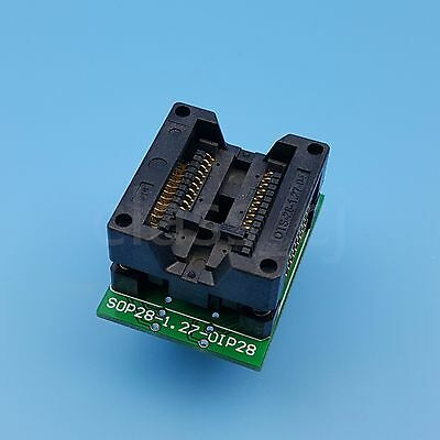 SOP20 TO DIP20 300mil Pitch 1.27mm IC Programmer Adapter Test Wide Chip Sockets