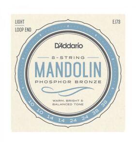 D-039-addario-Phosphor-Bronze-EJ73-10-38-Light-jeu-de-cordes-pour-mandoline