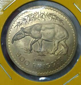 Malaysia Tapir $500 1976 Gold coin (Forgery)