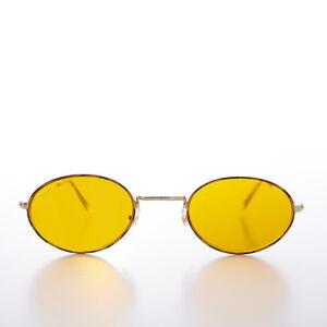 Oval-Blue-Blocker-Lens-Vintage-Sunglass-Tortoise-Gold-Frame-Mellow