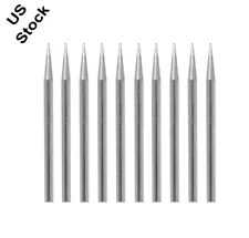 New 10x Lead Free Replacement Pencil Soldering Tip Solder Iron Tips 30w