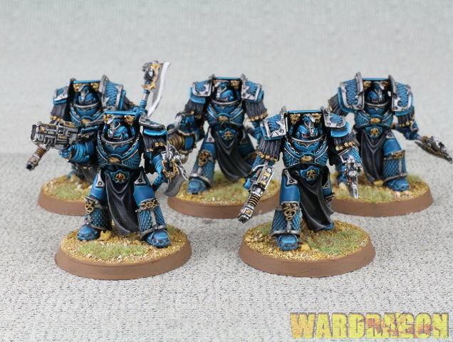 40mm forgeworld Wds Pintado Horus Heresy Alfa Legión Lernaean Terminadores e13