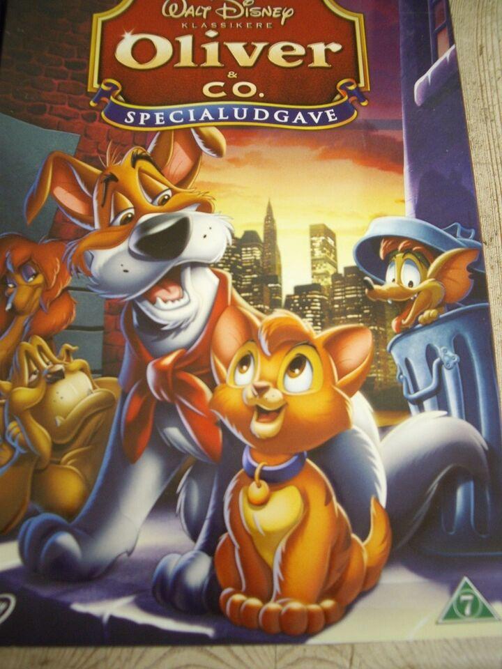 Disney, DVD, tegnefilm