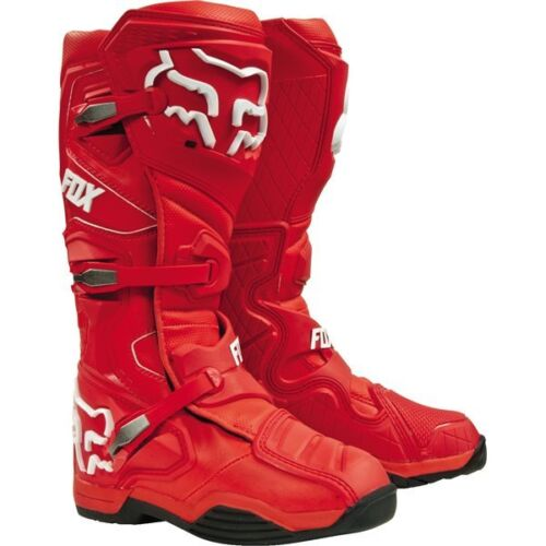 Fox Comp 8  Boots Red Adult Size 9