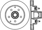 Disc Brake Rotor-High Carbon Alloy Brake Disc Front Centric 125.66025