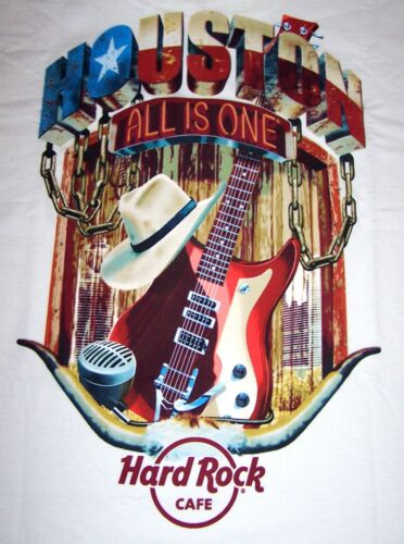 HARD ROCK CAFE HOUSTON CITY TEE T-SHIRT SIZE ADULT X-LARGE - NEW WITH TAGS