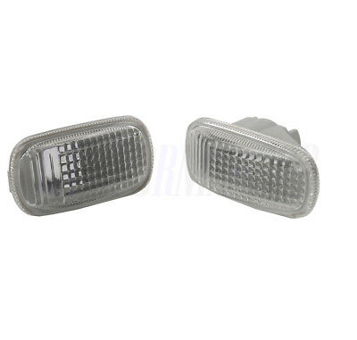 2pcs Side Repeater Lamp Lens L+R Fit For HONDA CIVIC 3 5 CRV STREAM 34301S5HT02