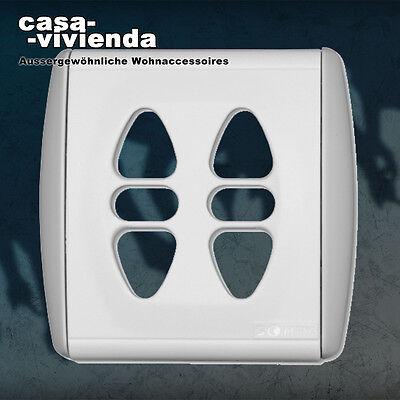 Standardabdeckung Original-Abdeckung für Somfy® Rollladenschalter Inis Duo