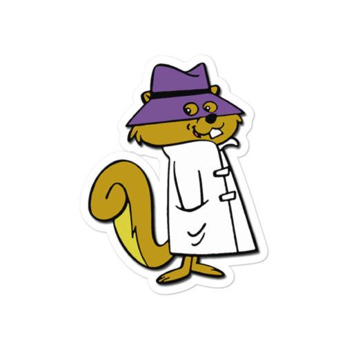 Secret Squirrel Vintage Cartoon Classic Throwback Old School Stickers Decals