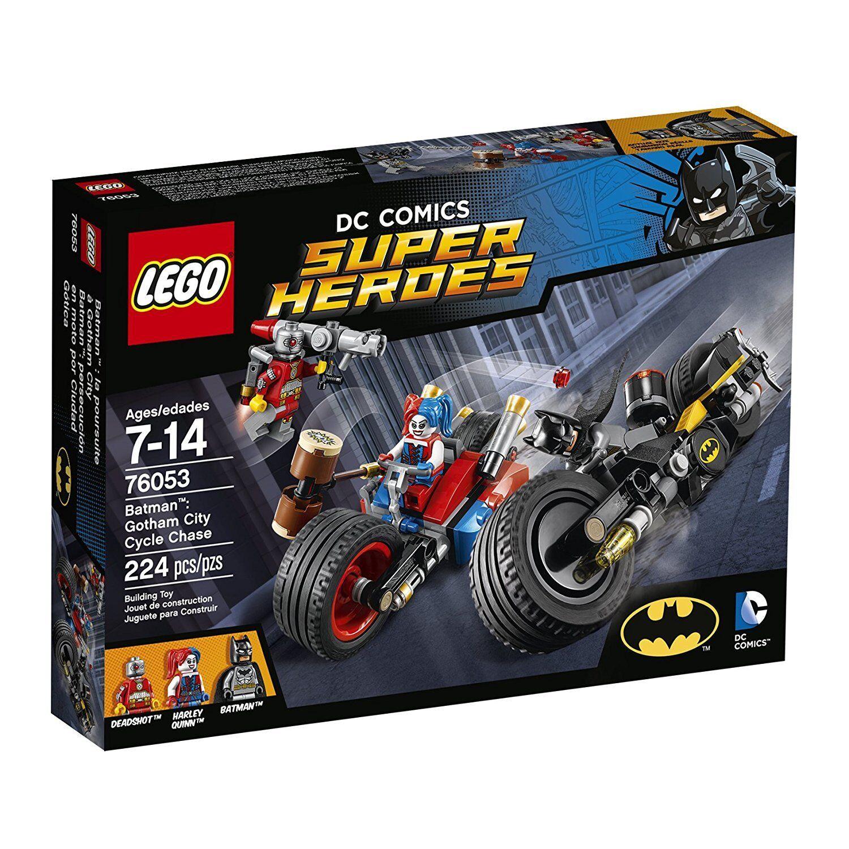 LEGO 76053 - Super Heroes  Batman - Gotham City Cycle Chase - 2016