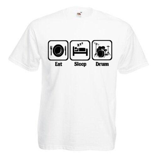 Drummer Drum Kit Children/'s Kids Childs Novelty T Shirt