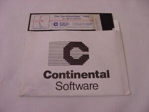 VTG-PC-SOFTWARE-THE-TAX-ADVANTAGE-1984-ALL-IBM-PC-VERSIONS-ARRAYS-INC