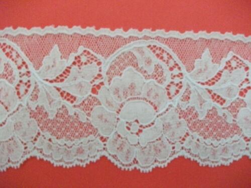 Nottingham Cotton Cluny Lace Vintage style Ecru FC173 Wedding,bridal,craft,sew