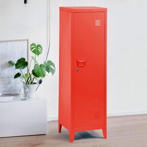 Идет загрузка изображения 3 Tier Metal Storage Locker Office Filing Cabinet