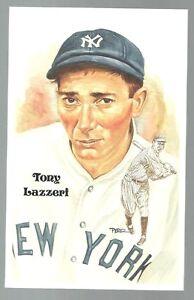 209-TONY-LAZZERI-Perez-Steele-Hall-of-Fame-Postcard