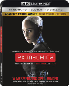 Ex-Machina-New-4K-UHD-Blu-ray-With-Blu-Ray-4K-Mastering-Ac-3-Dolby-Digital
