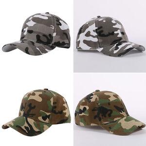5f387327a0f Men Women Camouflage Half Mesh Army Baseball Desert Jungle Snap Camo ...