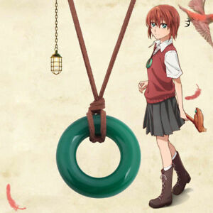 The Ancient Magus' Bride Kore Yamazaki Manga Hatori Chise jade Necklace Cosplay