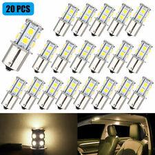 20x Warm White 1156 13 Smd Rv Camper Trailer Led Interior Light Bulbs 1073 1141
