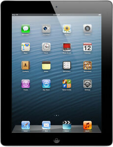 Apple iPad 4 16GB WIFI spacegrau - Zustand akzeptabel