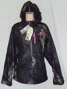 9a9db4ca0a0a3 NEW Mossy Oak Eclipse Scent Control Coat Camo Hoodie Waterproof ...