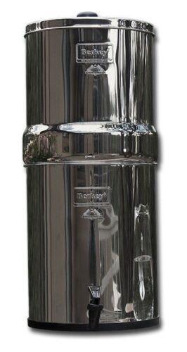 TRAVEL BERKEY WATER PURIFIER 2 BLACK BB-9 FILTERS AUTHORIZED DEALER /& WARRANTY