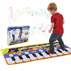 Piano-Matte-Tanzmatten-Klaviermatte-Musikmatte-Kinder-5-Modi-amp-8-Sounds